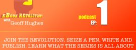 The eBook Revolution is a podcast about writing, creativity and indie publishing. We talk to writers, musicians and creatives about the secrets of success.