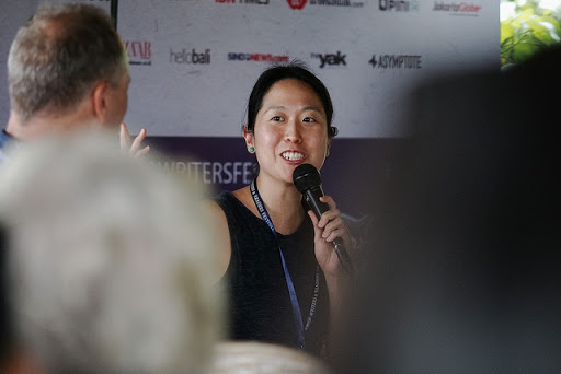 Tiffany Tsao 2018 Ubud Writer and Readers Festival - eBook Revolution podcast Ep 24