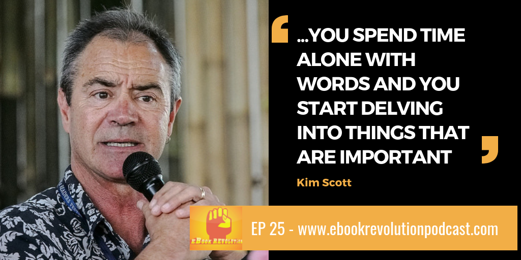 Kim Scott Ubud Writers Festival eBook Revolution podcast