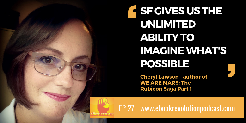 We Are Mars author Cheryl Lawson on the eBook Revolution Podcast EP 27